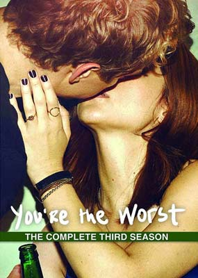 You're the Worst: Season 3 (2-disc) (DVD) - Klik her for at se billedet i stor størrelse.