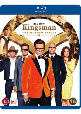 Kingsman: The Golden Circle (Blu-ray) (BD) - Klik her for at se billedet i stor størrelse.