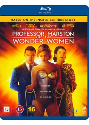 Professor Marston and the Wonder Women  (Blu-ray) (BD) - Klik her for at se billedet i stor størrelse.
