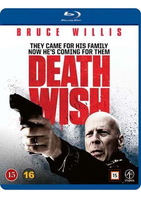 Death Wish (Bruce Willis) (Blu-ray) (BD) - Klik her for at se billedet i stor størrelse.