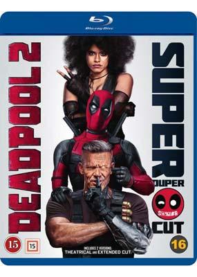Deadpool 2: Super Duper $@%!#& Cut (Blu-ray) (BD) - Klik her for at se billedet i stor størrelse.