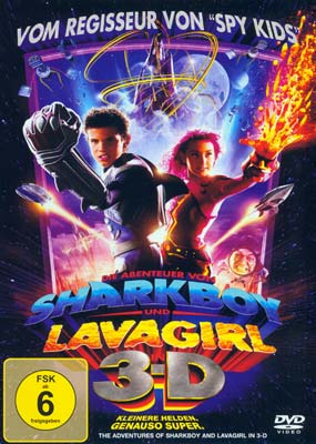 Adventures of Sharkboy and Lavagirl,  The (tysk omslag) (DVD) - Klik her for at se billedet i stor størrelse.