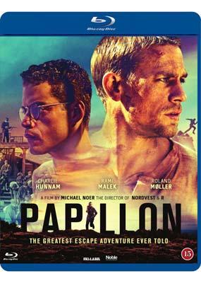 Papillon (Charlie Hunnam) (Blu-ray) (BD) - Klik her for at se billedet i stor størrelse.