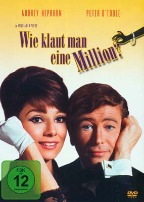 How to Steal a Million (tysk omslag) (DVD) - Klik her for at se billedet i stor størrelse.