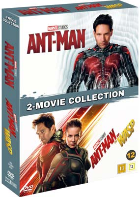 Ant-Man & Ant-Man and the Wasp (2-disc) (DVD) - Klik her for at se billedet i stor størrelse.