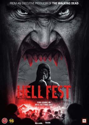 Hell Fest  (DVD) - Klik her for at se billedet i stor størrelse.