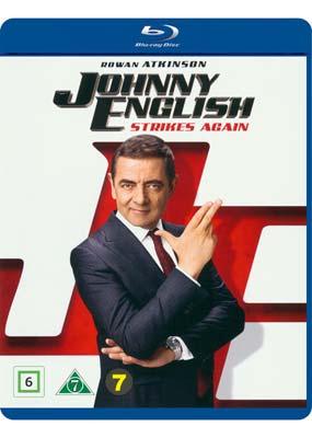 Johnny English Strikes Again (Blu-ray) (BD) - Klik her for at se billedet i stor størrelse.