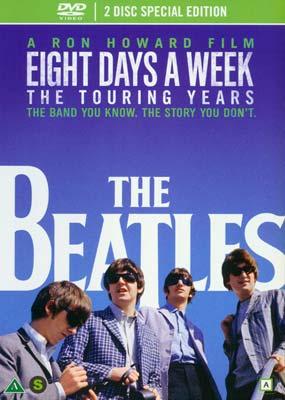 Beatles, The: Eight Days a Week - The  Touring      Years (2-disc) (DVD) - Klik her for at se billedet i stor størrelse.