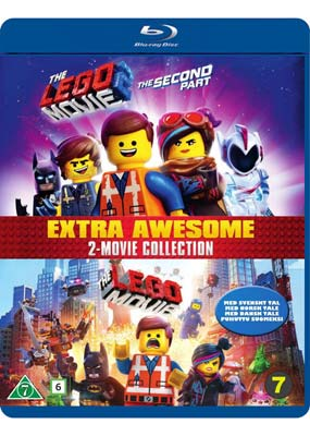 Lego Movie, The: 2-Movie  Collection (Blu-ray) (BD) - Klik her for at se billedet i stor størrelse.