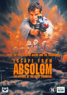 Escape from Absolom (hollandsk omslag) (DVD) - Klik her for at se billedet i stor størrelse.