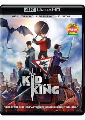 Kid Who Would Be King, The (4K Ultra HD) (BD) - Klik her for at se billedet i stor størrelse.