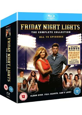 Friday Night Lights: The Complete Series (Blu-ray) (BD) - Klik her for at se billedet i stor størrelse.