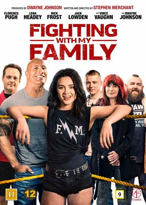 Fighting with My Family  (DVD) - Klik her for at se billedet i stor størrelse.