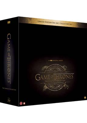 Game of Thrones: The Complete Series - Limited Edition (Blu-ray) (BD) - Klik her for at se billedet i stor størrelse.