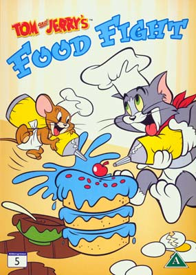Tom and Jerry's Food Fight  (DVD) - Klik her for at se billedet i stor størrelse.