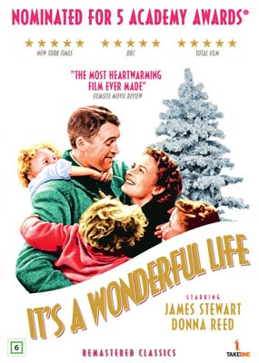 It's a Wonderful     Life (Remastered) (DVD) - Klik her for at se billedet i stor størrelse.