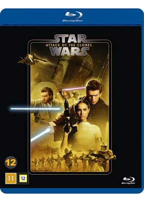 Star Wars, Episode II: Attack of the  Clones (2-disc) (Blu-ray) (BD) - Klik her for at se billedet i stor størrelse.