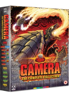 Gamera: The Complete Collection (12 film) (Blu-ray) (BD) - Klik her for at se billedet i stor størrelse.
