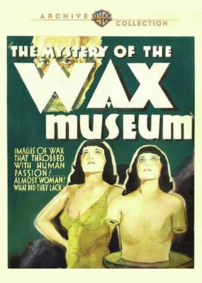 Mystery of the Wax Museum (Fay Wray) (Warner Archive) (DVD) - Klik her for at se billedet i stor størrelse.