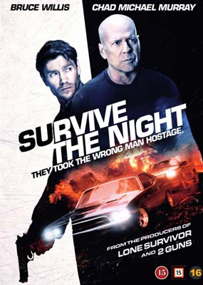 Survive the Night (Bruce Willis)  (DVD) - Klik her for at se billedet i stor størrelse.