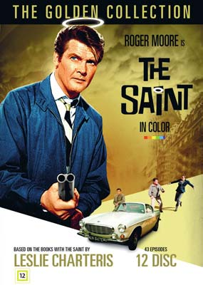 Saint, The - in Color: The Golden Collection (12-disc) (DVD) - Klik her for at se billedet i stor størrelse.