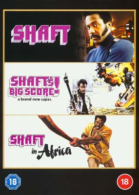 Shaft Triple Feature (3-disc) (DVD) - Klik her for at se billedet i stor størrelse.