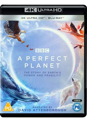 Perfect Planet, A (David Attenborough) (4K UHD) (UHD) - Klik her for at se billedet i stor størrelse.