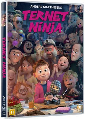 Ternet Ninja  (DVD) - Klik her for at se billedet i stor størrelse.