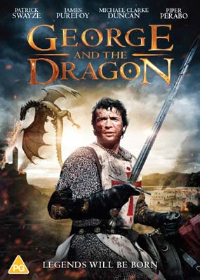 George and the Dragon  (DVD) - Klik her for at se billedet i stor størrelse.