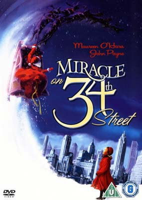 Miracle on 34th  Street (Colorised) (DVD) - Klik her for at se billedet i stor størrelse.