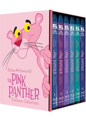 Pink Panther Cartoon Collection, The: Volume 1-6 (1964-1980) (Blu-ray) (BD) - Klik her for at se billedet i stor størrelse.
