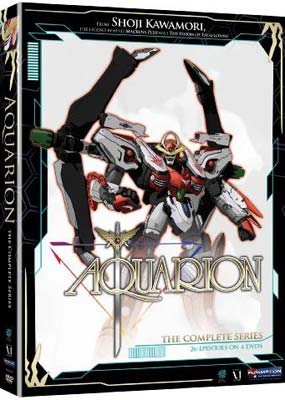 Aquarion: The Complete Series (4-disc) (DVD) - Klik her for at se billedet i stor st�rrelse.