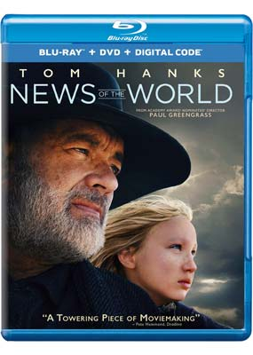 News of the World (Blu-ray & DVD) (BD) - Klik her for at se billedet i stor størrelse.