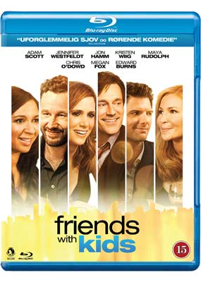 Friends with Kids (Blu-ray) (BD) - Klik her for at se billedet i stor st�rrelse.