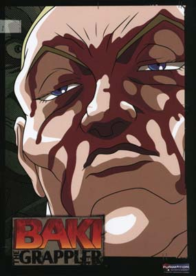 Baki the Grappler: Rounds  7-12 (6-disc) (DVD) - Klik her for at se billedet i stor st�rrelse.
