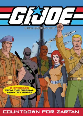 G.I. Joe: Countdown For Zartan  (DVD) - Klik her for at se billedet i stor st�rrelse.