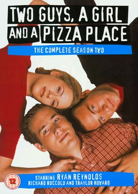 Two Guys, a Girl and a Pizza Place: Season 2 (4-disc) (DVD) - Klik her for at se billedet i stor st�rrelse.