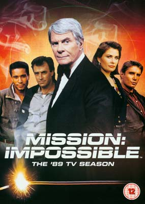 Mission   Impossible: Season   2 - The '89 TV Season (4-disc) (DVD) - Klik her for at se billedet i stor st�rrelse.