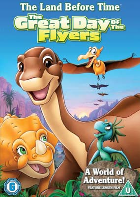 Land Before Time 12: The Great Day of the Flyers  (DVD) - Klik her for at se billedet i stor st�rrelse.