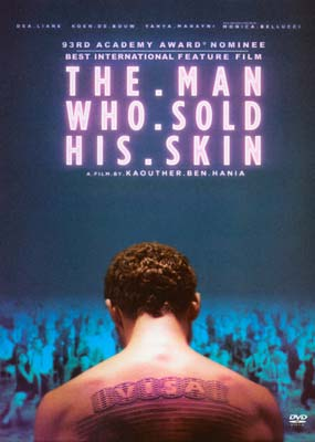 Man Who Sold His Skin, The  (DVD) - Klik her for at se billedet i stor størrelse.