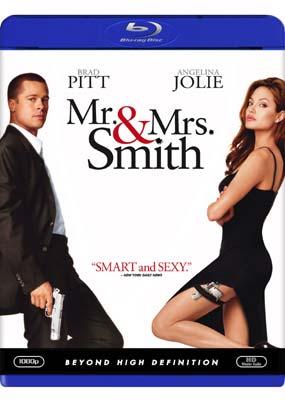 Mr. & Mrs. Smith (Brad Pitt) (Blu-ray) (BD) - Klik her for at se billedet i stor størrelse.