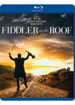 Fiddler on the Roof: 40th Anniversary (Blu-ray) (BD) - Klik her for at se billedet i stor størrelse.