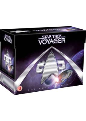 Star Trek  Voyager: The Complete Series (Gift Set) (DVD) - Klik her for at se billedet i stor st�rrelse.