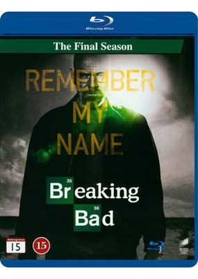 Breaking Bad: The  Final Season (Blu-ray) (BD) - Klik her for at se billedet i stor størrelse.