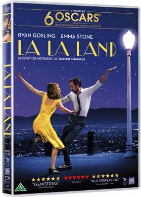 La La Land  (DVD) - Klik her for at se billedet i stor størrelse.
