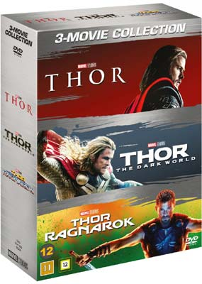 Thor: 3-Movie Collection (3-pack) (DVD) - Klik her for at se billedet i stor størrelse.