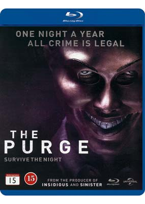 Purge, The (Ethan   Hawke) (Blu-ray) (BD) - Klik her for at se billedet i stor størrelse.