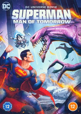 Superman: Man of Tomorrow  (DVD) - Klik her for at se billedet i stor størrelse.