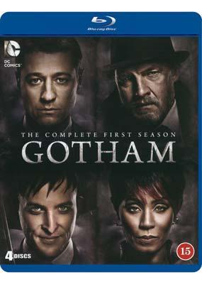 Gotham:    Season 1 (4-disc) (Blu-ray) (BD) - Klik her for at se billedet i stor størrelse.