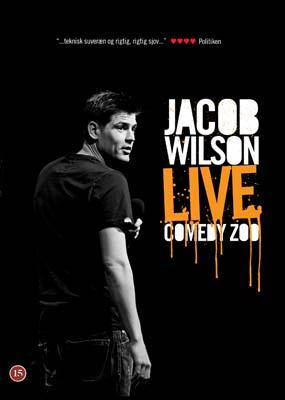 Jacob Wilson: Live Comedy Zoo (2010)  (DVD) - Klik her for at se billedet i stor størrelse.